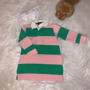 Ralph Lauren Rugby Stripe Dress 12M